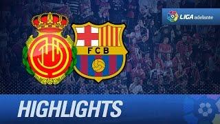 Resumen de RCD Mallorca (3-3) FC Barcelona B - HD