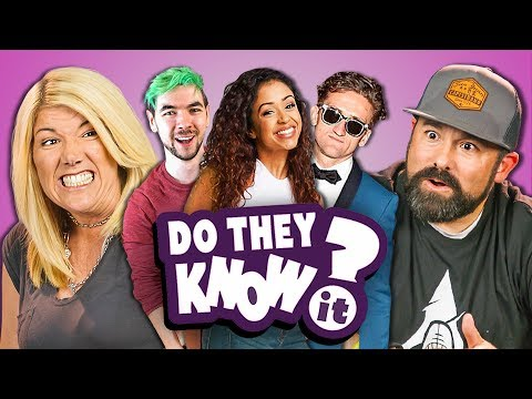 DO PARENTS KNOW YOUTUBE STARS? #3 (REACT: Do They Know It?)