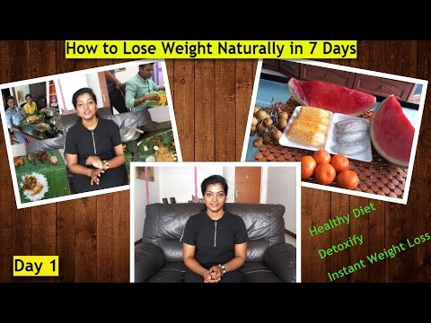 GM Diet Day 1 in Tamil – How to Lose Weight fast #MyWeightLossJourney #Detoxify #HealthyDiet