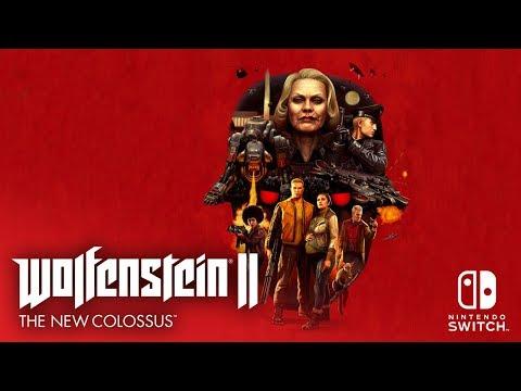 Lançamento de Wolfenstein II para Nintendo Switch em 29 de junho!