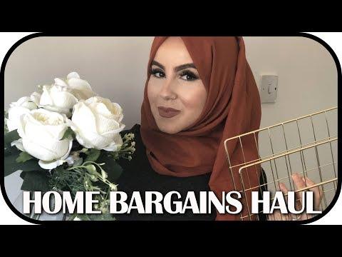 HOME BARGAINS HAUL!   Amina Chebbi