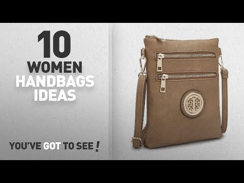 Top 10 Over The Shoulder Handbag [ Winter 2018 ]: Dasein Womens Classic Small Crossbody Bags Multi