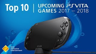 Top 10 Upcoming PlayStation Vita Games | 2017 - 2018