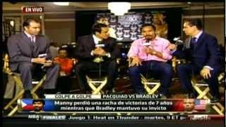 Manny Pacquiao vs Tim Bradley Post Fight Interview