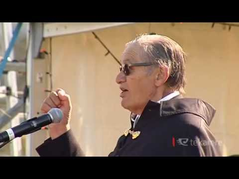 Hone Harawira on King Tuheitia's backing of Mana-Māori parties