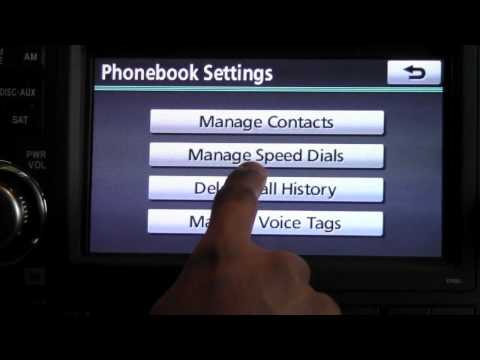2012 | Toyota | Highlander | Bluetooth Phone Settings | How To By Toyota City Minneapolis MN