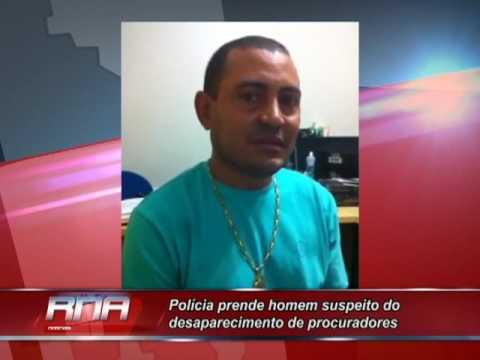 Polícia Civil prende homem suspeito do desaparecimento de procuradores