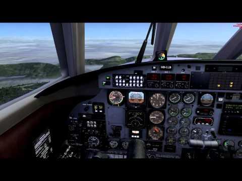 Crossair Fairchild Swearingen Metroliner III LFSB to LSZB