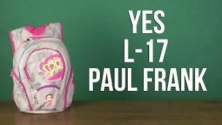 Розпакування YES L-17 Paul Frank для дівчаток