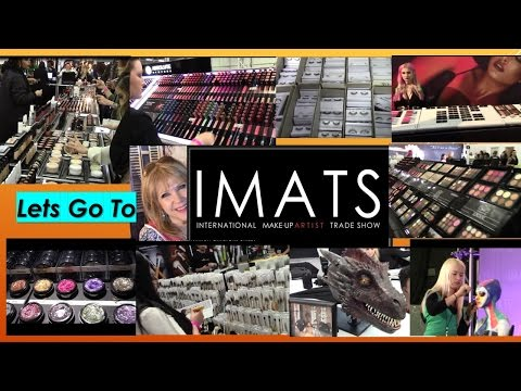 Let's Go To IMATS! Makeup & Beauty Trade Show in NY!