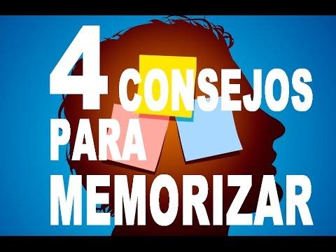 4 CONSEJOS PARA MEMORIZAR MAS RAPIDO