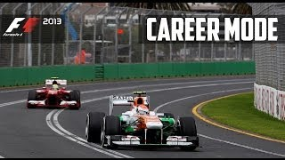 F1 2013 Gameplay Career Mode - Part 2 Australian Grand Prix [S1 P2]