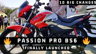 Hero Passion Pro BS-6 2020 | Launch | 7 New Changes, Price, Features, Mileage | PR Moto Vlogs