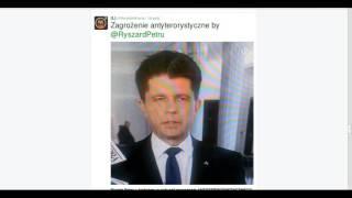 """Ryszard Petru """"Jesteśmy w sytuacji zagrożenia ANTYTERRORYSTYCZNEGO"""" WPADKA ŚMIESZNE"""