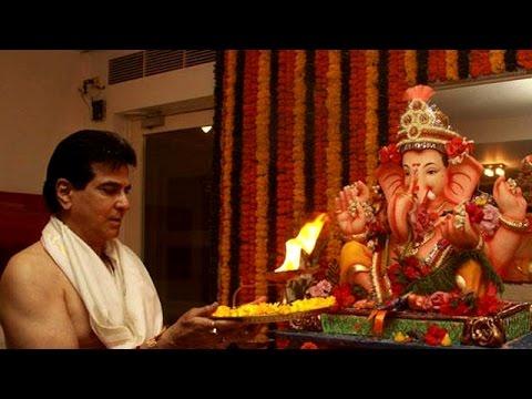Ganpati Puja at Jeetendra's House   Interview