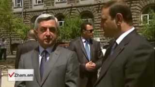 Zham.am/ «Տարո´ն ջան, սիրուն չստացվեց». մայիսի 5-ին կասի գործող նախագահը Տարոն Մարգարյանին