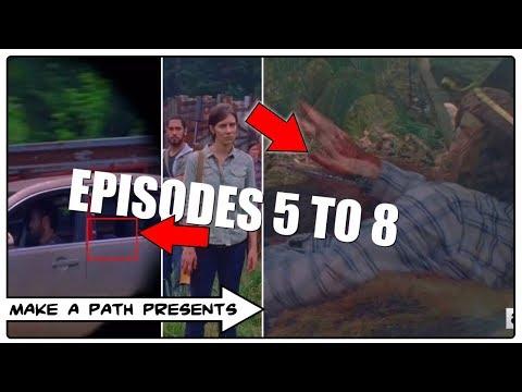 THE WALKING DEAD SEASON 8 Ep. 5-8 BREAKDOWN PREDICTIONS