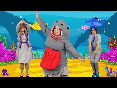 Bellissima canzone per bambini Baby shark piccolo squalo