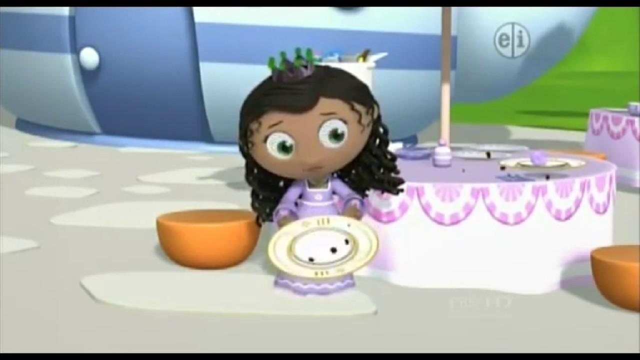 Super Why Princess Pea Crying