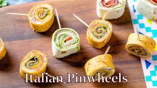 Italian Pinwheels - Easy & Delicious Party Appetizer Recipe