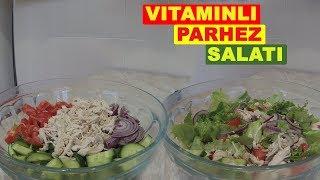 VITAMINLI PARHEZ SALATI / Диетический салат витаминный