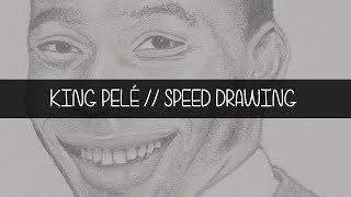 King Pelé // Speed Drawing