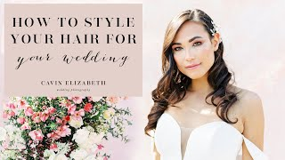 How You Can Wear Your Hair Based on Your Wedding Dress Style