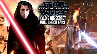 The Rise Of Skywalker Kylo's Big Secret Revealed! Leaked Details (Star Wars Episode 9)
