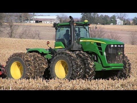 Pitstick Farms - John Deere 9530 on 11-12-2013