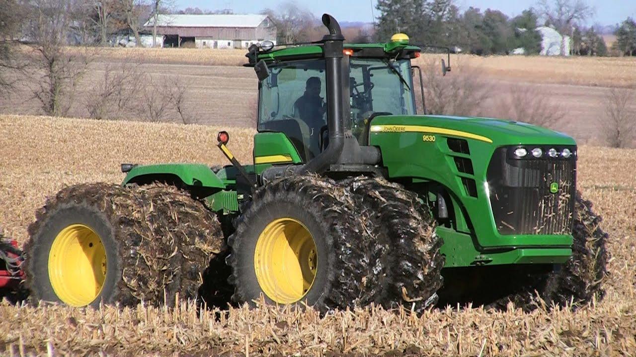 Hd Tractor Desktop Wallpapers: John Deere 9530 On 11-12-2013