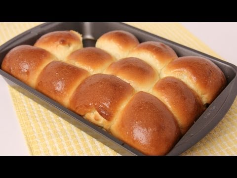Homemade Dinner Rolls Recipe - Laura Vitale - Laura In The Kitchen Episode 453