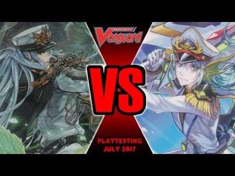 Ripple Vs Thavas - Cardfight Vanguard Playtesting July 2017