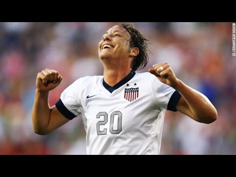 Abby Wambach Out Of US Women's World Cup Lineup v Sweden