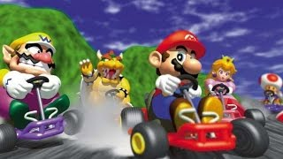 Mario Kart 64 Wii U Virtual Console - Official Japanese Trailer