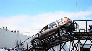 Заезд и спуск с горки на новом Mitsubishi Pajero Sport 2016