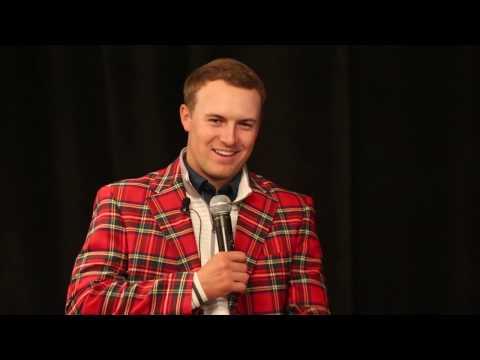 A conversation with pro golfer Jordan Spieth