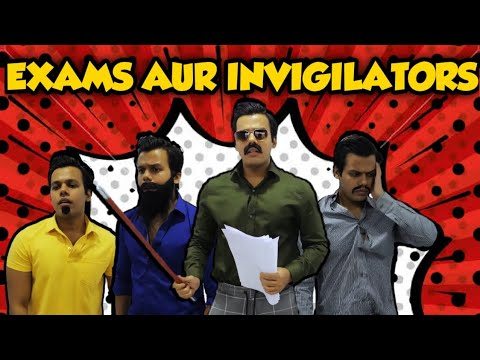 EXAMS AUR INVIGILATORS..!! || Hyderabad Diaries