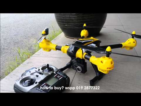 Дрон K70 Sky Warrior: 2016's Best Toy Camera Drone до 300 метра обвхат 14
