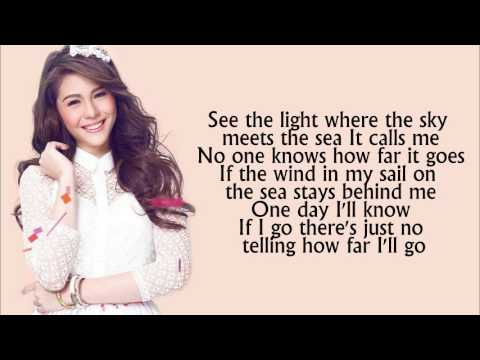 Disney's Moana - How Far I'll Go Lyrics - Janella Salvador
