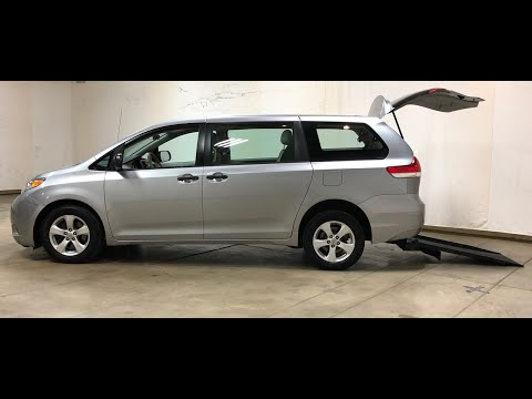 2011 Toyota Sienna LE Low Mile Manual Rear Entry Freedom Motors Wheelchair Accessible Mobility Van!
