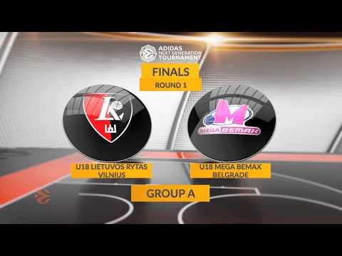 EB ANGT Finals Highlights: U18 Lietuvos rytas Vilnius - U18 Mega Bemax Belgrade