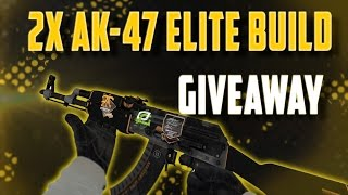 CSGO- EARLY 100 SUB 2X AK-47 ELITE BUILD GIVEAWAY