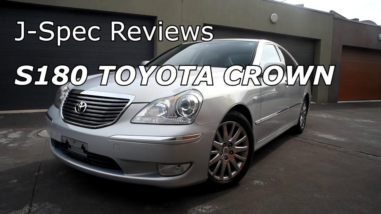 j spec reviews s180 toyota crown majesta youtube rh youtube com 2000 Toyota Crown 2003 Toyota Crown