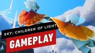 13 Minutes of Sky: Children of Light Gameplay (ThatGameCompany)