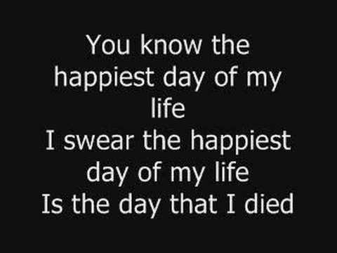 Good Charlotte - The Day That I Die + Lyrics