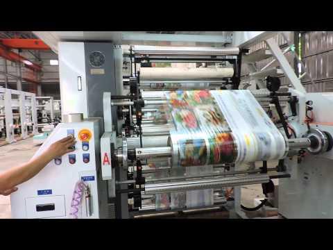 WRP AS-1000-6C Printing machine trail