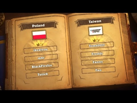 Poland vs Taiwan - Group G - Match 1 - Hearthstone Global Games