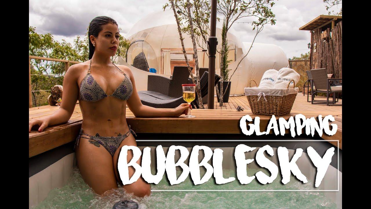 BubbleSky Glamping-Camping with the COMFORT of LUXURY HOTEL| Acampar con el CONFORT de HOTEL DE LUJO