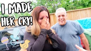SURPRISING MY PREGNANT SISTER! (SHE CRIED!!)
