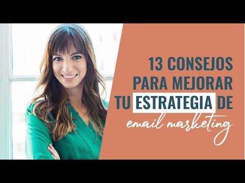 13 consejos para mejorar tu estrategia de email marketing y vender más